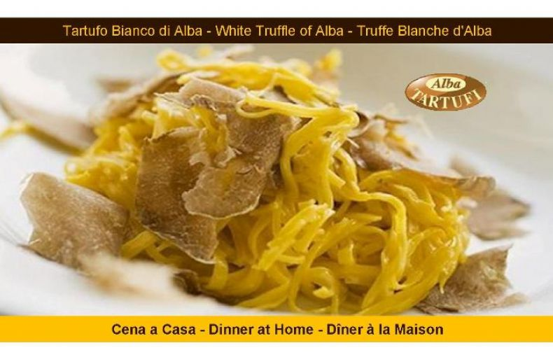 Alba Tartufi Dinner At Home With Alba White Truffle
