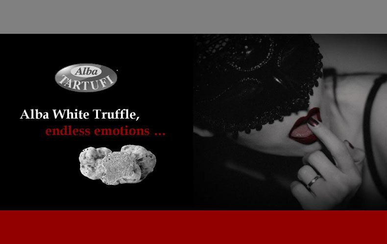 Eros and Alba White Truffle