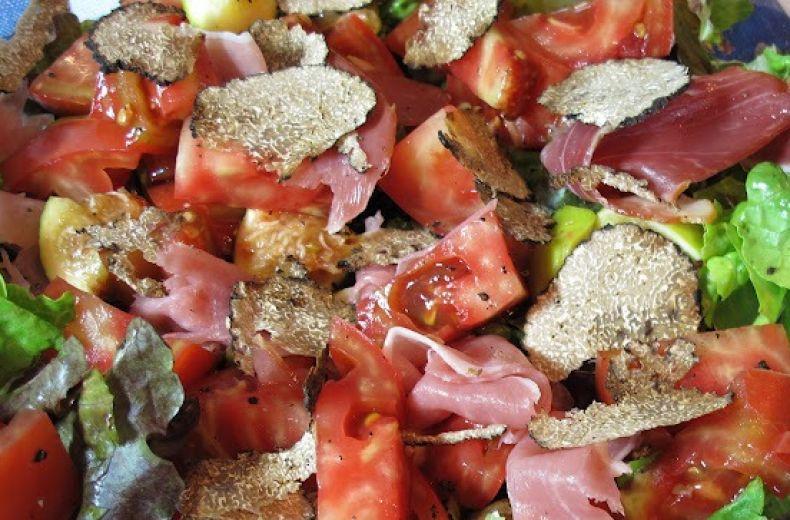 Salad With Black Summer Truffle Alba Tartufi